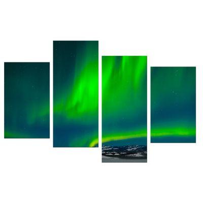 Leinwandbild - Nordlichter – Bild 9