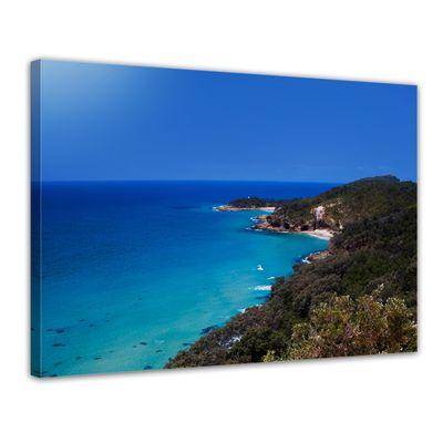Leinwandbild - Oasis Island Paradise