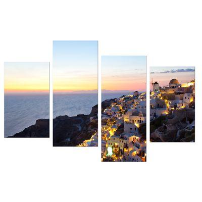 Leinwandbild - Oia Village Santorini - Griechenland – Bild 9