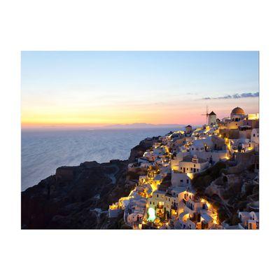 Leinwandbild - Oia Village Santorini - Griechenland – Bild 2