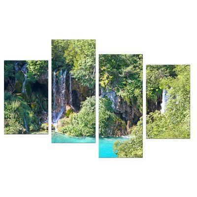 Leinwandbild - Plitvicer Seen I - Kroatien – Bild 9