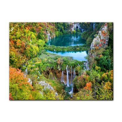 Leinwandbild - Plitvicer Seen II - Kroatien – Bild 2