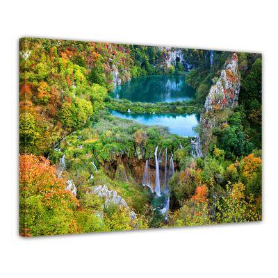Leinwandbild - Plitvicer Seen II - Kroatien