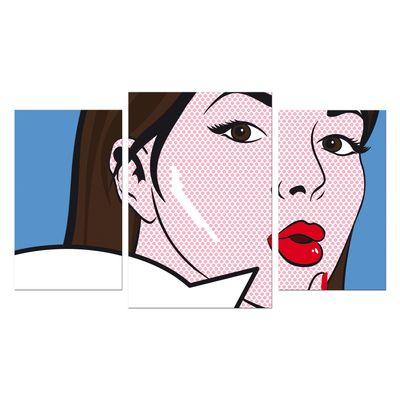 Leinwandbild - Pop-Art Oops Frau  – Bild 5