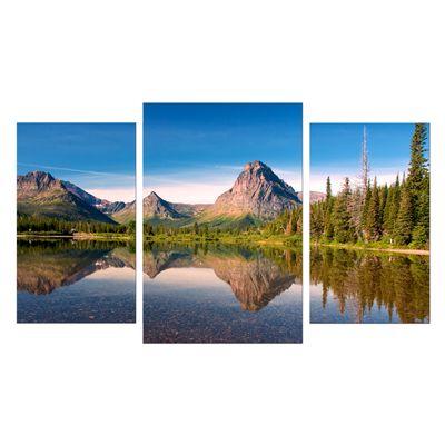 Leinwandbild - Reflektion am See – Bild 7