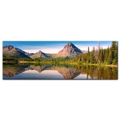 Leinwandbild - Reflektion am See – Bild 3