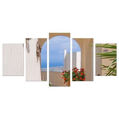 Leinwandbild - Santorini Tor – Bild 6