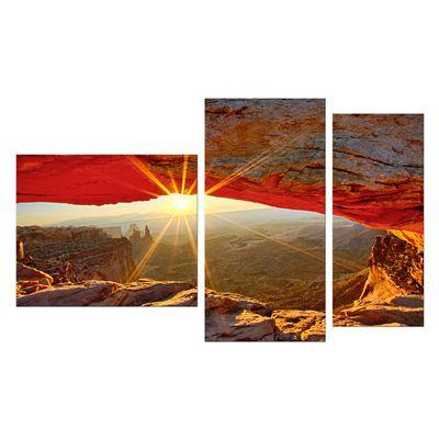 Leinwandbild - Sonnenaufgang im Arches-Nationalpark - Utah – Bild 9