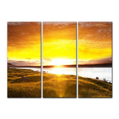 Leinwandbild - Sunset - Sonnenuntergang – Bild 5