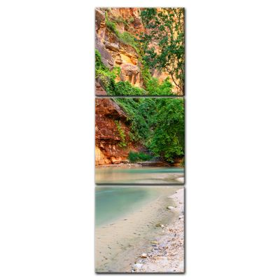 Leinwandbild - Fluss Virgin River – Bild 4