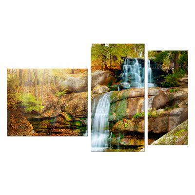 Leinwandbild - Wasserfall im Regenwald – Bild 9