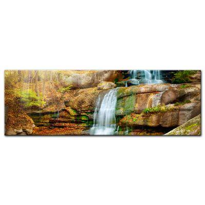 Leinwandbild - Wasserfall im Regenwald – Bild 3