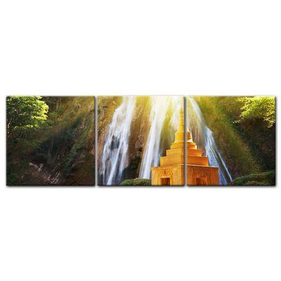 Leinwandbild - Wasserfall in Myanmar – Bild 4