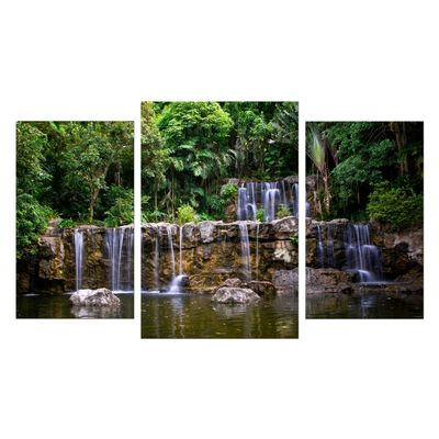 Leinwandbild - Wasserfall in Thailand – Bild 7