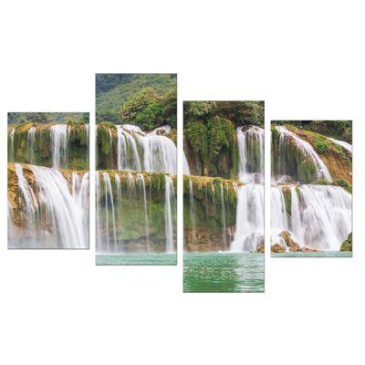 Leinwandbild - Wasserfall in Vietnam – Bild 8