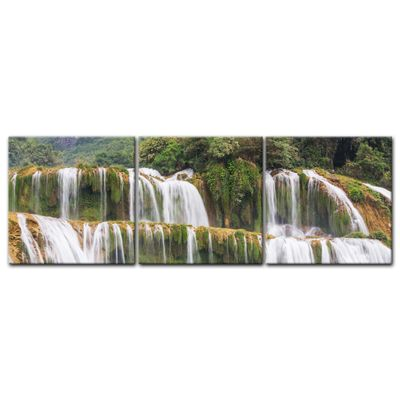 Leinwandbild - Wasserfall in Vietnam – Bild 4