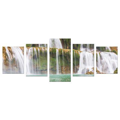 Leinwandbild - Wasserfall in Vietnam – Bild 11