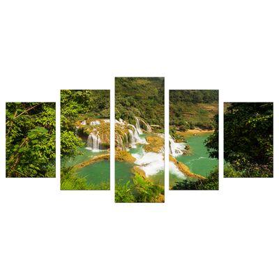 Leinwandbild - Wasserfall in Vietnam II – Bild 6