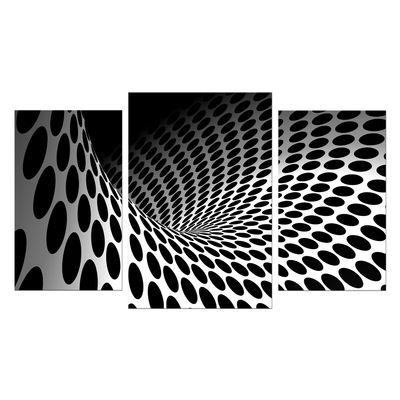 Leinwandbild - Wellen und Kreise  – Bild 7