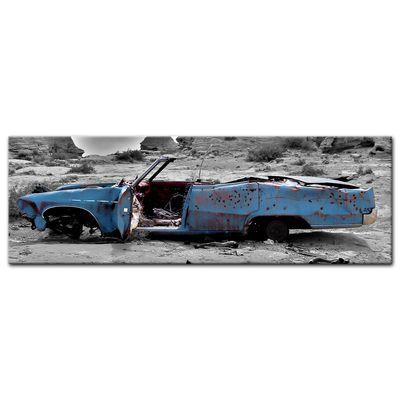 Leinwandbild - Cadillac - blau – Bild 3