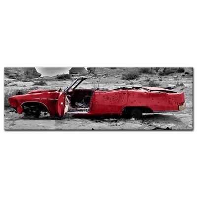 Leinwandbild - Cadillac - rot – Bild 3
