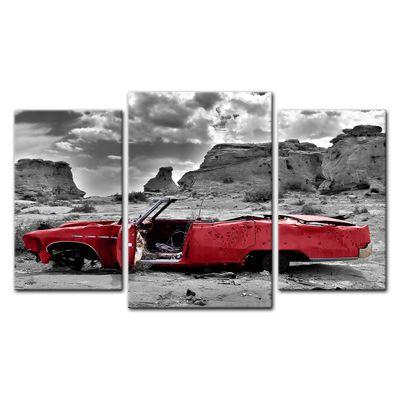 Leinwandbild - Cadillac - rot – Bild 8