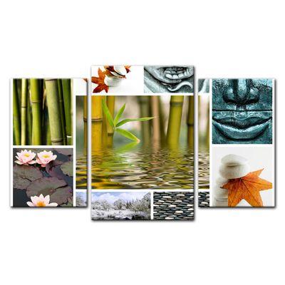 Leinwandbild - Buddha Collage – Bild 10
