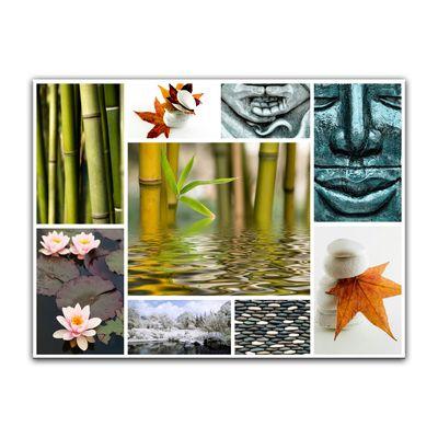 Leinwandbild - Buddha Collage – Bild 3