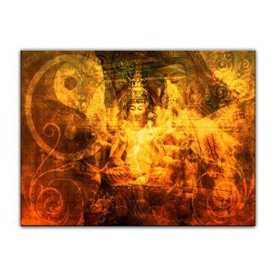 Leinwandbild - Buddha Urban – Bild 5