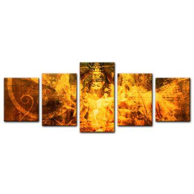 Leinwandbild - Buddha Urban – Bild 9