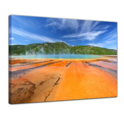 Leinwandbild - Grand Prismatic Spring - Yellowstone