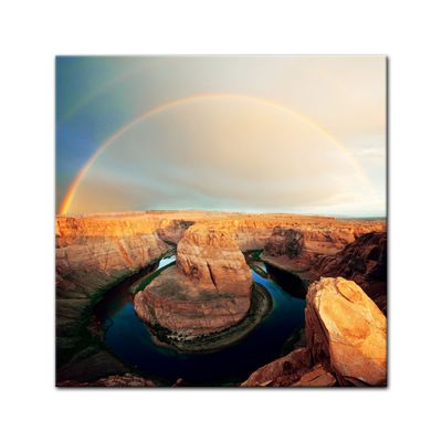 Leinwandbild - Horseshoe Bend - Arizona – Bild 2