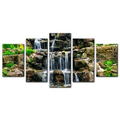 Leinwandbild - Wasserfall II – Bild 13
