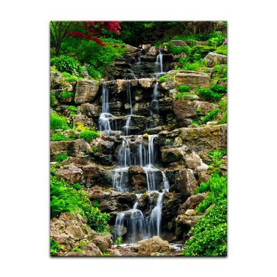 Leinwandbild - Wasserfall II – Bild 3