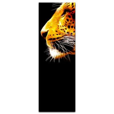 Leinwandbild - Leopard Neon – Bild 7