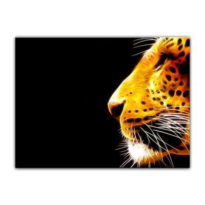 Leinwandbild - Leopard Neon – Bild 12