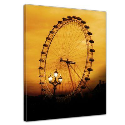 Leinwandbild - London Eye