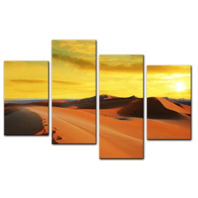 Leinwandbild - Sahara - Wüste in Afrika II – Bild 13