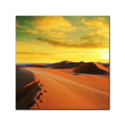Leinwandbild - Sahara - Wüste in Afrika II – Bild 2