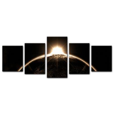 Leinwandbild - Sonnenaufgang – Bild 16