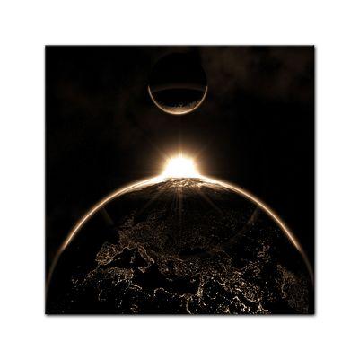 Leinwandbild - Sonnenaufgang – Bild 2