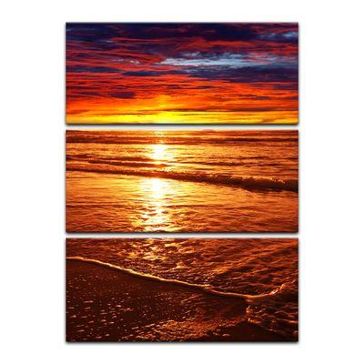Leinwandbild - Sonnenuntergang – Bild 11
