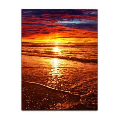 Leinwandbild - Sonnenuntergang – Bild 4