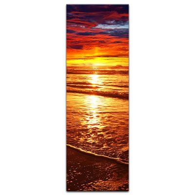 Leinwandbild - Sonnenuntergang – Bild 8