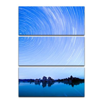 Leinwandbild - Star Trails over Mono Lake – Bild 11