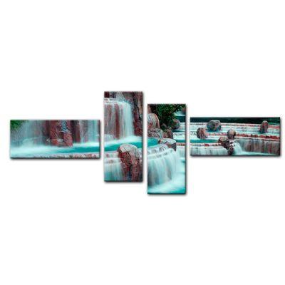 Leinwandbild - Wasserfall vor dem Wynn Hotel - Las Vegas – Bild 15