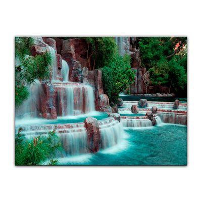 Leinwandbild - Wasserfall vor dem Wynn Hotel - Las Vegas – Bild 5