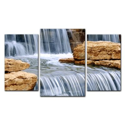 Leinwandbild - Wasserfall I – Bild 13
