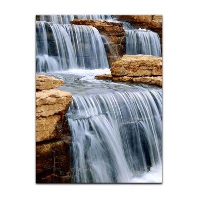 Leinwandbild - Wasserfall I – Bild 3