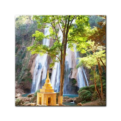 Leinwandbild - Waterfall in Myanmar – Bild 2